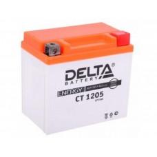 Delta AGM СТ 1205 (5 а/ч) YTX5L-BS,YTZ7S,YT5L-BS