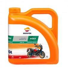 Масло Repsol MOTO RIDER 4T 20W50, 4 л канистра ,Испания,
