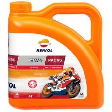 Масло Repsol MOTO RACING 4T 10W40, 4 л канистра ,Испания,