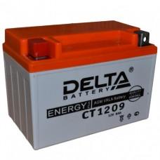 Delta AGM СТ 1209 (9 а/ч) YTX9-BS,YTX9