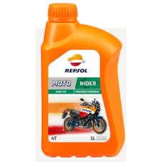 Масло Repsol MOTO RIDER 4T 10W40, 1 л канистра,Испания,