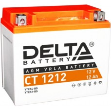 Delta AGM СТ 1212 (12 а/ч) YTX14-BS,YTX12-BS