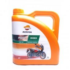 Масло Repsol MOTO RIDER 4T 15W50, 4 л канистра,Испания,